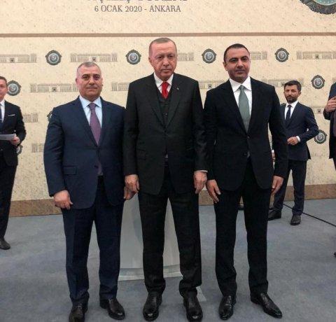 DTX sədri Əli Nağıyev Türkiyə prezidenti ilə görüşüb - Ekskluziv